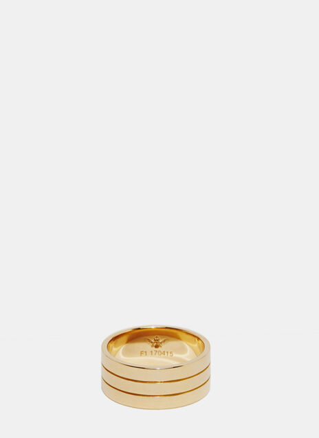 SAQQARA M RING YELLOW GOLD