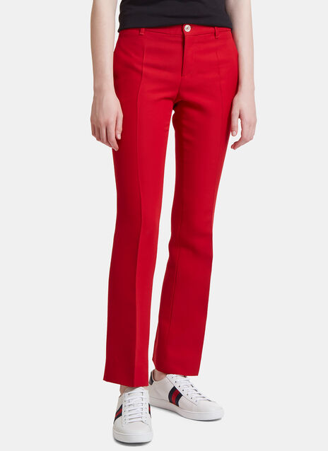 Slim Cropped Suiting Pants