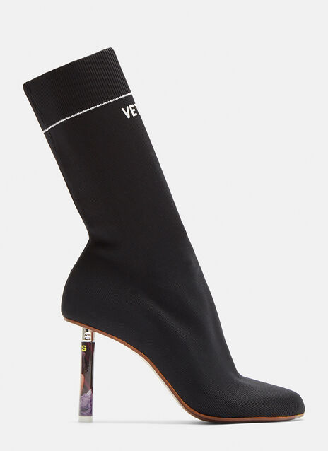 Vetements Lady Lighter Sock Boots