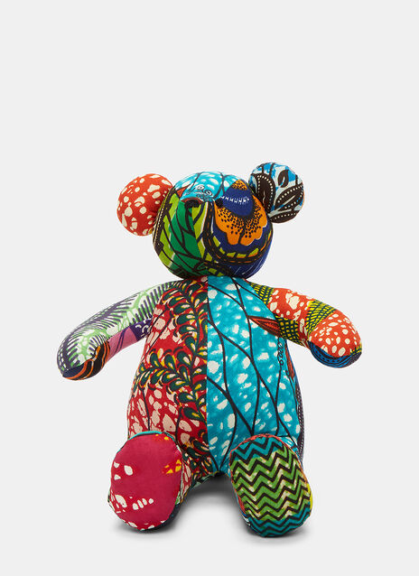African Pattern Teddy 1