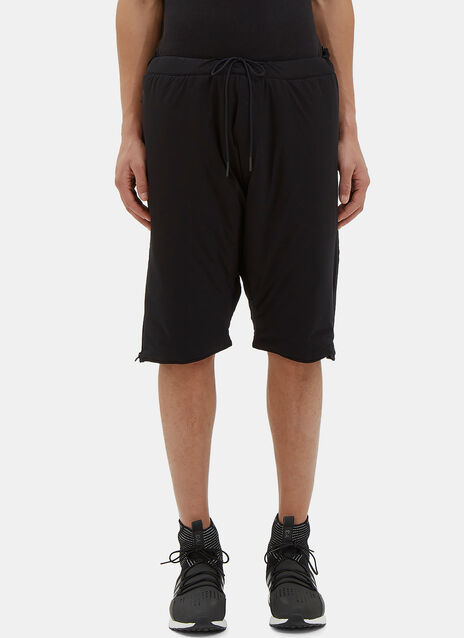 Oversized Padded Shorts