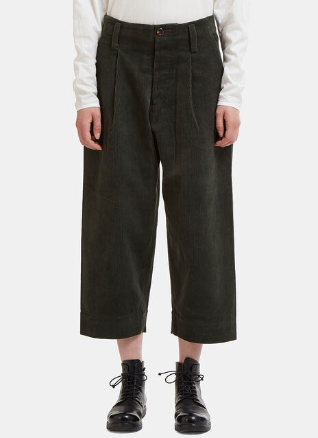 Paul Cropped Corduroy Pants