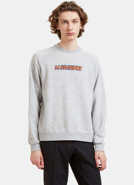 La Solitudine Crew Neck Sweater