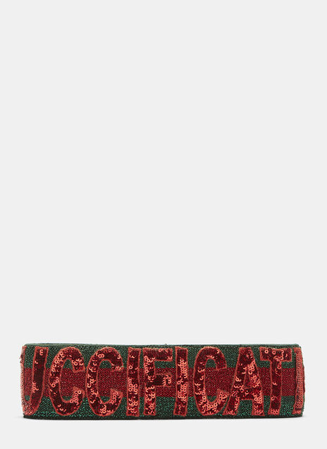 Guccification Sequinned Headband