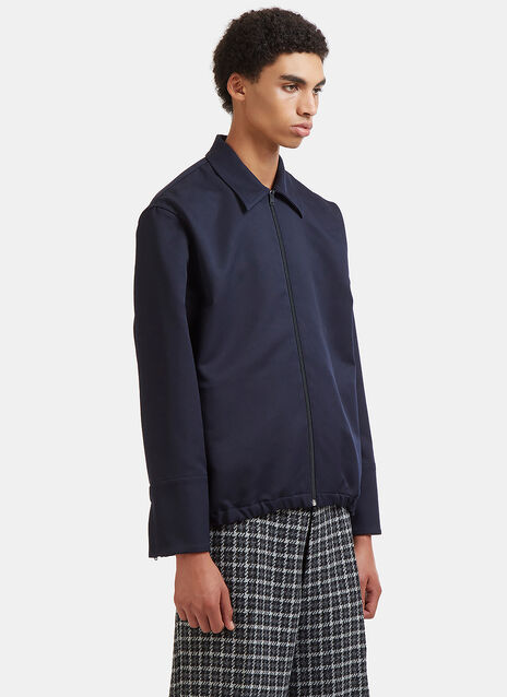 Tactile Twill Elasticated Hem Coach Jacket