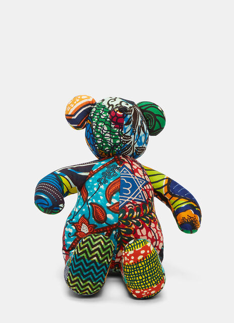 African Pattern Teddy 14