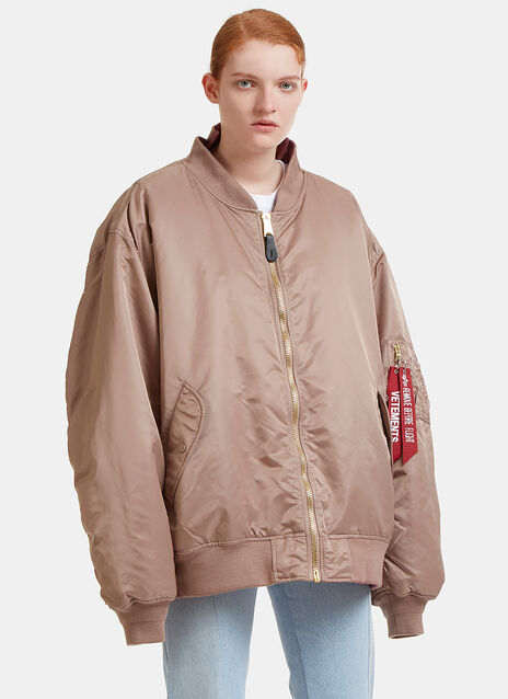 Alpha Reversible Bomber Jacket