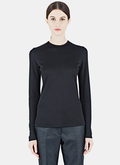Long Sleeved Cut-Out Top