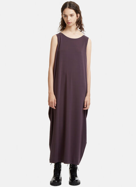 Double Stream Drape Jersey Dress