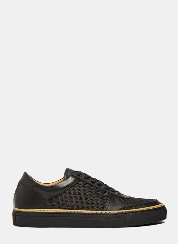 Number 288 Grand Ii Low Leather Basket Sneakers
