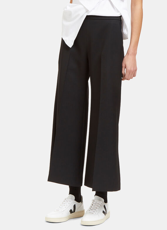 Acne Studios Isa Wide Cropped Culottes