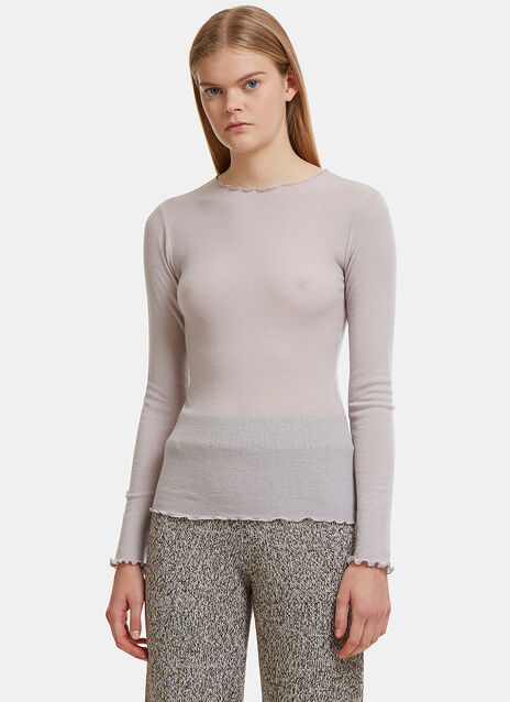 Baserange Oki Long Sleeved Top