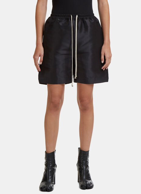 Structured Drawstring Shorts