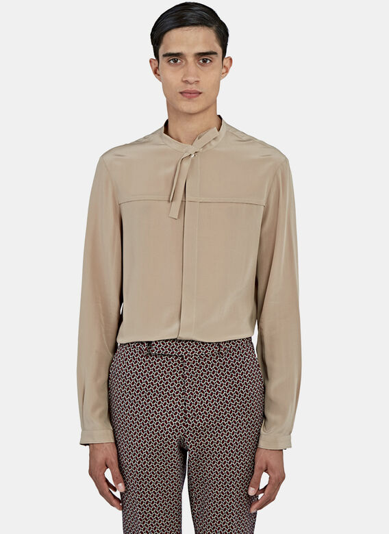 Gucci Silk Crepe Shirt
