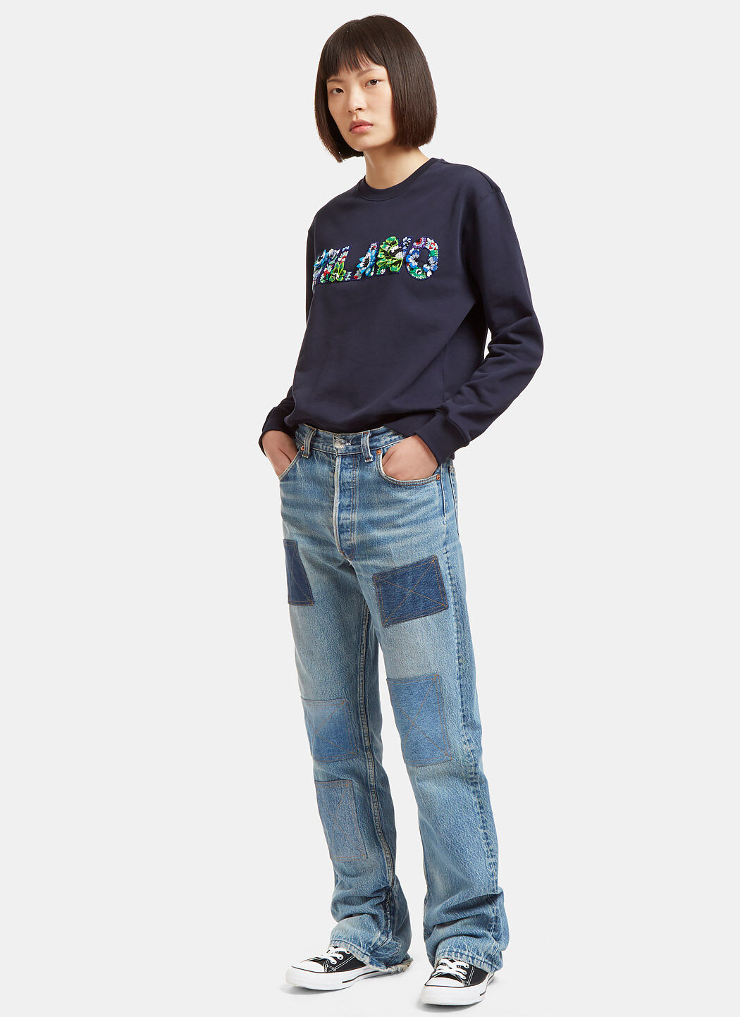 Msgm Floral Sweater