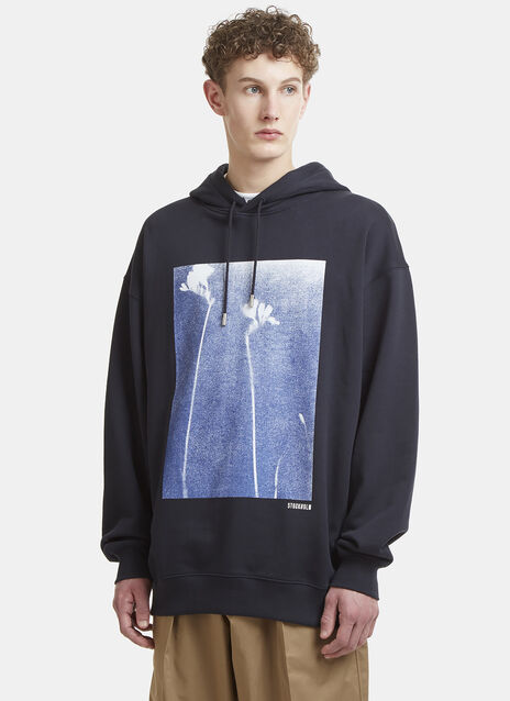 Acne Studios Fala Print Hooded Sweater