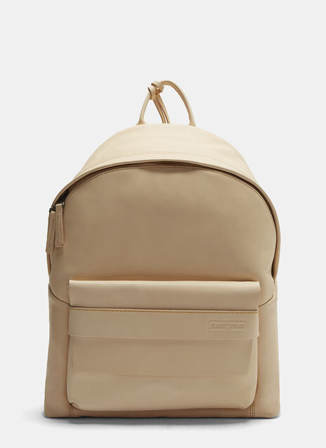 Padded Pak'r Leather Backpack