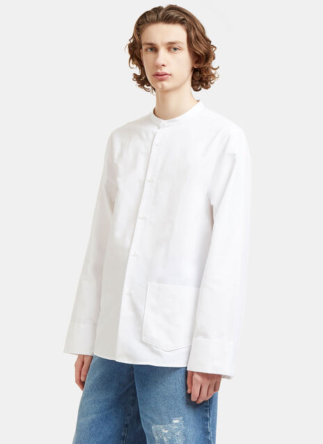 Maple Lux Long Poplin Shirt