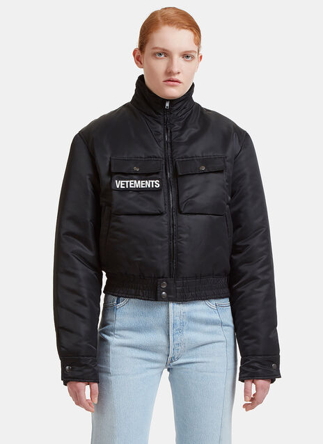 Vetements Reversible Police Jacket