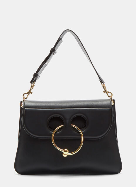 Medium Pierced Crossbody Handbag