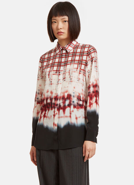 Chika Checked Dye Shirt