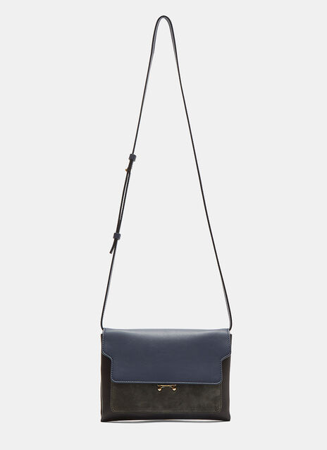 Flat Pochette Trunk Shoulder Bag
