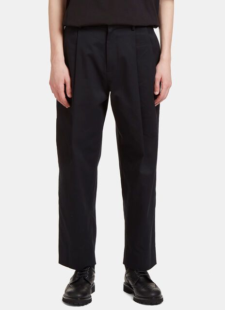 Folded Pleat Pants