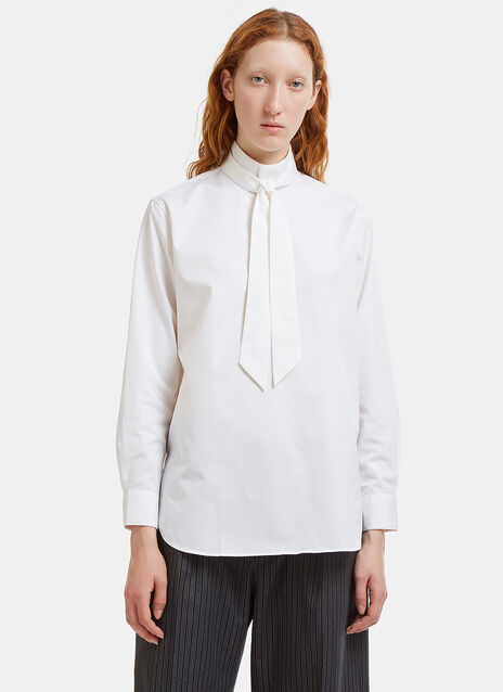 Brian Band Collar Shirt