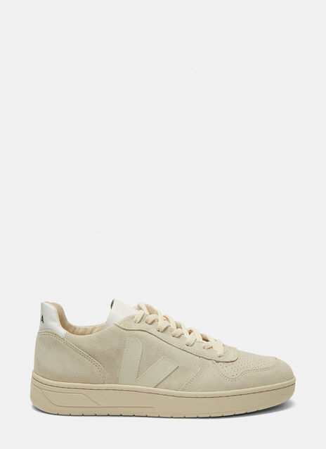 V-10 Mid-Top Suede Sneakers