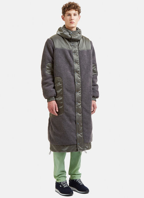 Hooded Sherpa coat