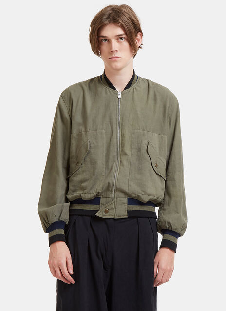 P17 Reversible Seed Bomber Jacket