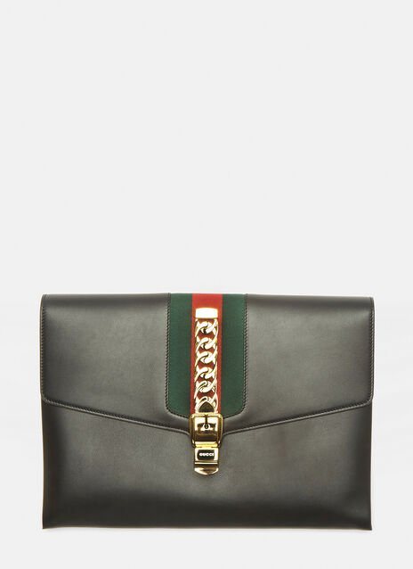 Gucci Oversized Maxi Sylvie Clutch