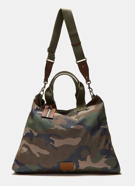 Camouflage Canvas Tote Bag