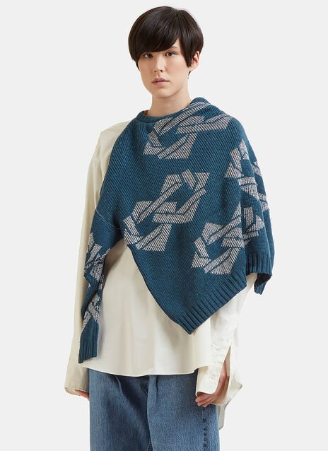 Hed Mayner Sweater Knit Shirt