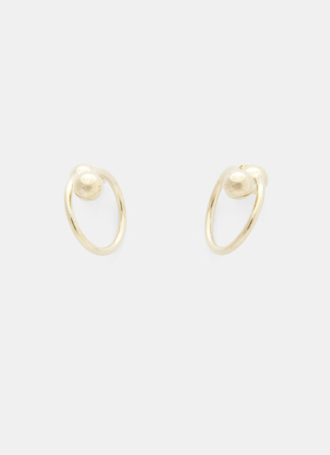 JW Anderson Extra Small Double Ball Earrings