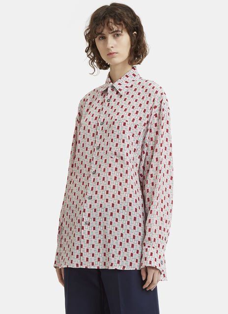 Marni Oversized Graphic Print Shirt