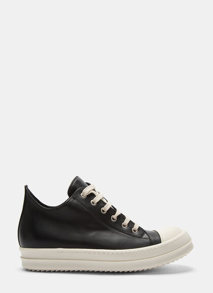 Image of Low Leather Sneakers