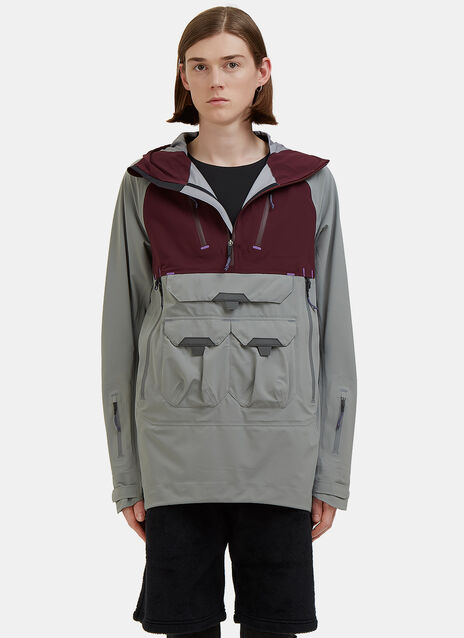 Hard Shell Layer Hooded Jacket