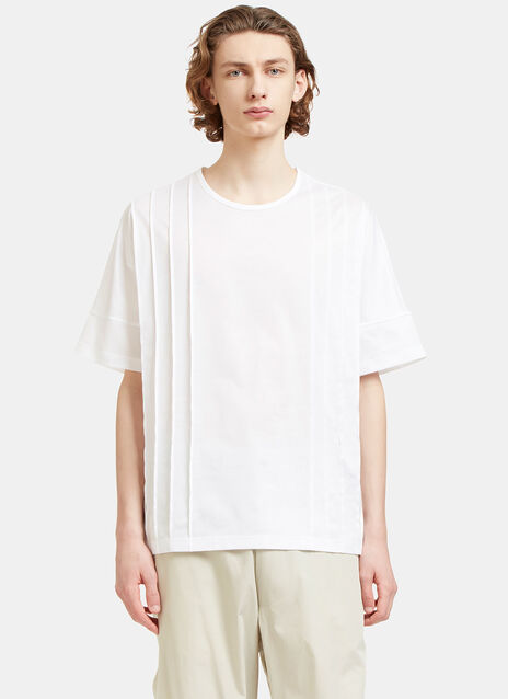 Collection Oversized Pleated T-Shirt