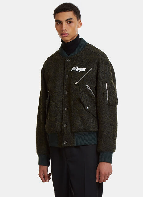 Stella Mccartney Textured Bomber Jacket