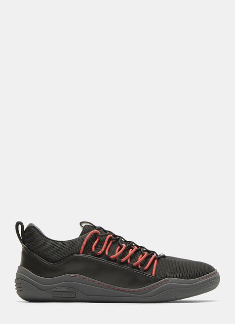 Lanvin Mesh Low Top Sneakers