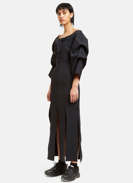Jellyfish Long Slit Dress