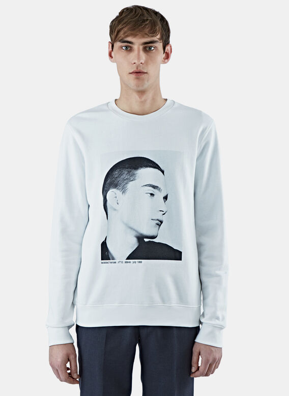 Raf Simons Isolated Heroes Stevie Print Sweater