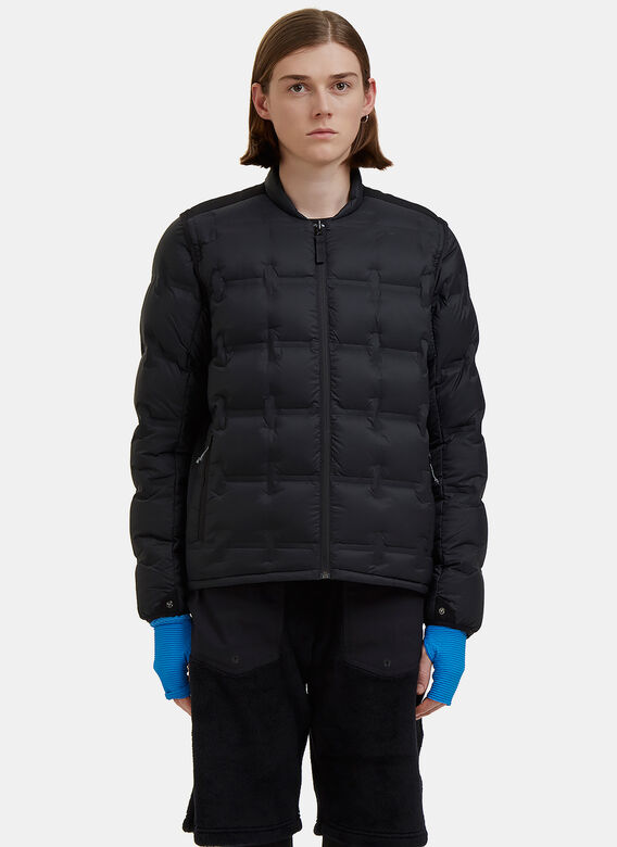 7l Down Insulated Liner Layer Jacket