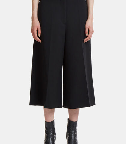 Wide Wrap Cropped Culottes