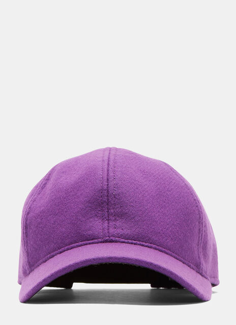 Six Panel Felted Cap