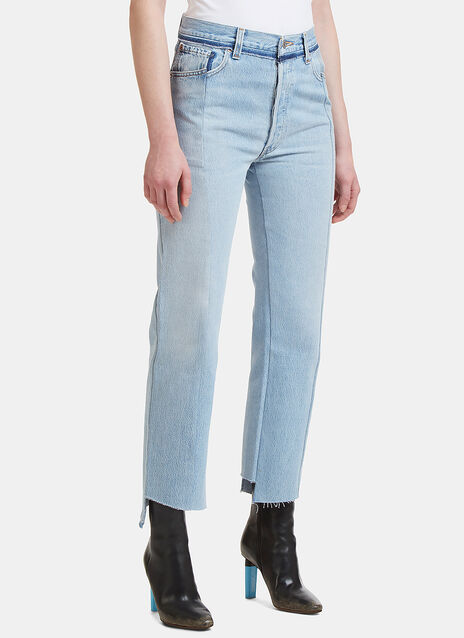 Reworked Push Up Jeans