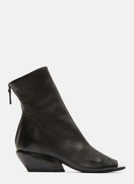 Marsell Mostrina Open Toe Ankle Boots