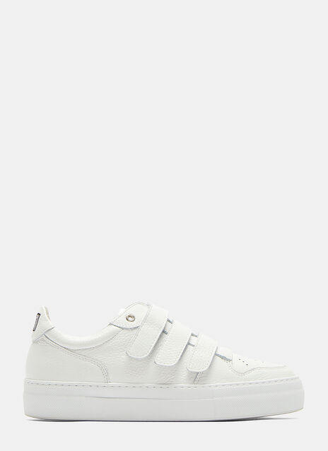 Triple-Strapped Low-Top Sneakers