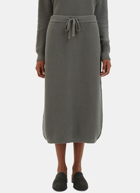 Freeway Mid-Length Knit Skirt
